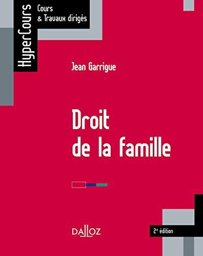 Droit de la famille (HyperCours) (French Edition)