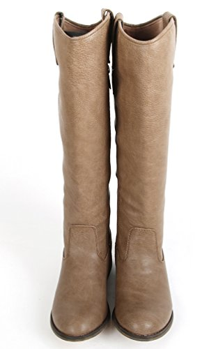 Riding Breckelles Rider Classic Knee Beige Womens High 18 Premium Boots vYwdqrv