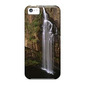 LJF phone case Iphone 5c Case Cover Skin : Premium High Quality Sabie River Falls Transvaal South Africa Case