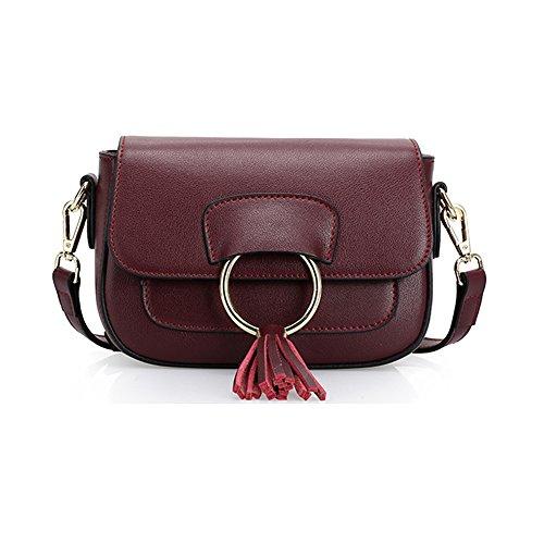 Vintage Paris Lo'la Handbag with Sling (Purple) - 9