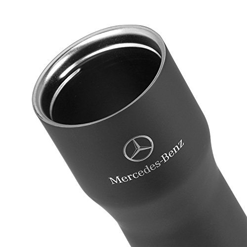 Stainless Mercedes Steel Travel Mug Vacuum Sealed Black Benz ED9I2H