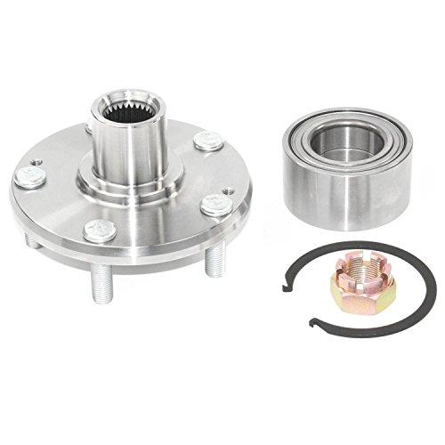 DuraGo 29596154 Rear Wheel Hub Kit, 1 Pack Wheel Hub Flange Kit
