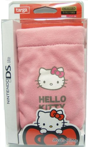 - Nintendo DS Lite Pink Pouch Hello Kitty pocket