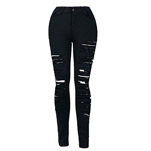 UPLOTER Fashion Skinny Stretch Trousers