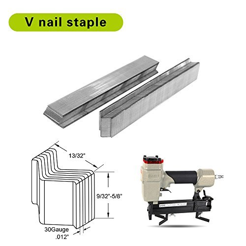 meite Hard wood type 10.3mm Diameter V Nails 7mm Length FOR PICTURE FRAME JOINER V1015B V-NAILER JOINING GUN 4000 PCS/BOX