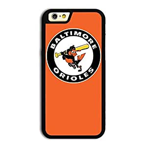 MLB American League Baltimore Orioles team logo #3 TPU iPhone 6 case protective skin cover by runtopwell