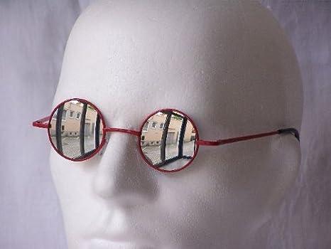 Emeco John Lennon Brille Style Seraph Matrix PV8009MIX, REVO VERSPIEGELT