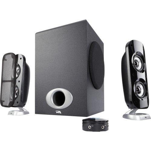 Cyber Acoustics Power Pro CA-3858BT 2.1 Speaker System - 40 W RMS - Wireless Speaker(s) by Cyber Acoustics