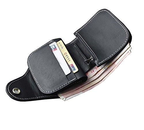 Biker Real Wallet with Leather Skin Short Handmade chain Snake Purse Vintage n6q0EBA