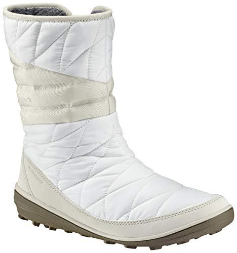Columbia Women's Heavenly Slip II Omni-Heat Ankle Boot, sea Salt, Fawn, 8 Regular US