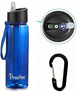 Portable Water Filter Purifier Cleaner for Outdoor Survival Hiking Camping Emergency Outdoor Youger Water Filter Purifier Purify Pump