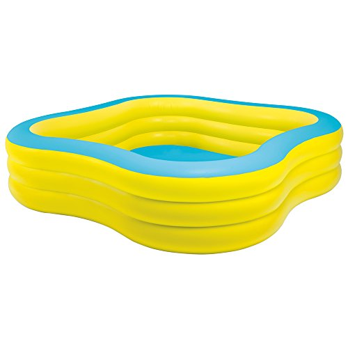 "Price comparison product image Intex Swim Center Family Inflatable Pool, 90"" X 90"" X 22"", for Ages 6+"