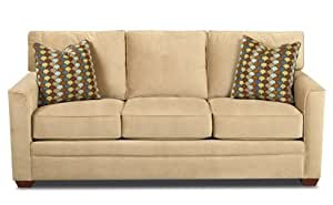 Amazon Bel Air Queen Sleeper Sofa in Belsire Honey Kitchen & Dining