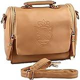حقيبة يد نسائية كلاسيكية من الجلد يمكن ارتدائها عبر الجسم أو حقيبة كتف كاجوال بمقبض حقيبة مسائية اسم المنتج