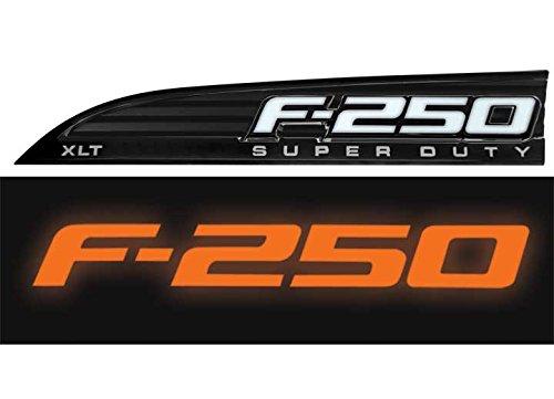 Recon Illuminated F-250 Emblem Chrome 264185AMBK