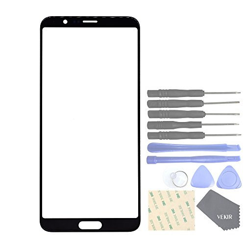 VEKIR Screen Glass Lens Replacement for Huawei Honor View 10 Honor V10 (Black)