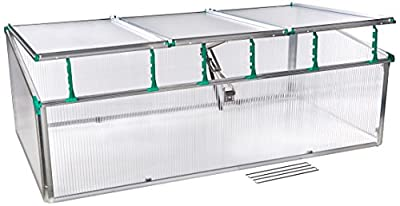 Juwel BioStar Premium Cold Frame Greenhouse by Exaco Trading Co