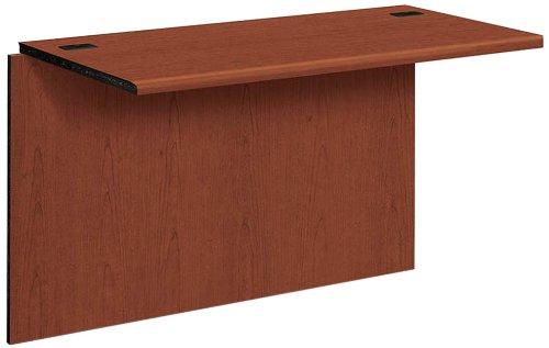 HON The Company Desk Bridge Work Station, 47 by 24 by 29-1/2-Inch, Henna Cherry
