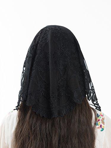 Black Mantillas Catholic Veils Beautiful product image