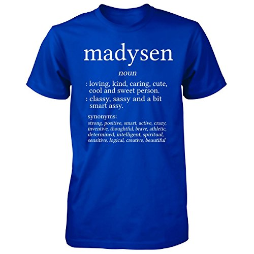 Madysen Name Meaning. Dictionary Format. Funny Gift - Unisex Tshirt