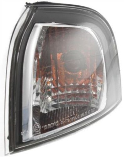 CPP Driver Side DOT/SAE Compliant Corner Light for 1999-2003 Volvo S80 ()