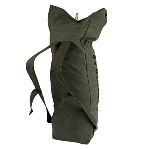 Cabin Max Unisex Canvas Eimer Rucksack Backpack leichtgewicht Wandernrucksack Handgepäckstück 120L