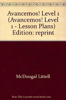 Avancemos!: Lesson Plans Level 1