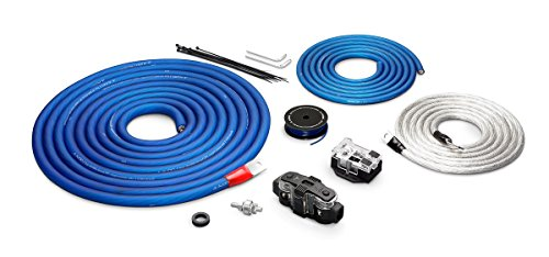 Power Kit 200 Amplifier - JL Audio XD-PCS1/0-2B 1/0-AWG 12-Volt Power Connection for Two Amplifier 200-AMP Capacity