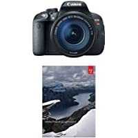 Canon EOS Rebel T5i Digital SLR with 18-135mm STM Lens + Adobe PhotoShop Lightroom 6