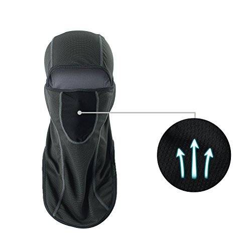 LONGLONG Balaclava - Sun Protection Mask Windproof, Dust & Breathable Summer Full Face Cover for Cycling, Hiking, Motorcycle