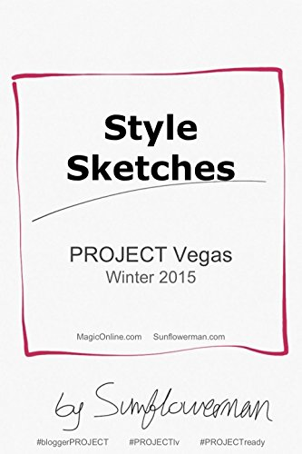 Style Sketchbook: iPad Drawing at PROJECT Show Las - Las Vegas Fashion Hours Show