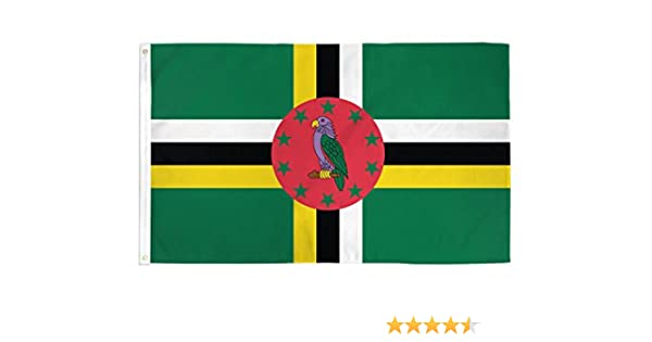 3x5 Dominica Flag Commonwealth Banner Caribbean Island Pennant