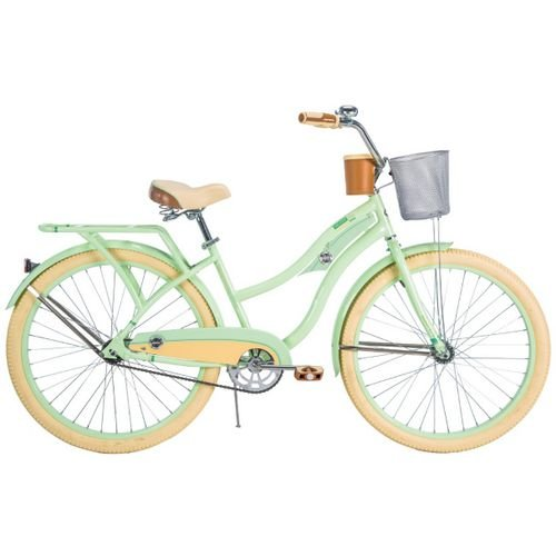 26 in Cruiser Bicycle (Deluxe Womens Helmet)