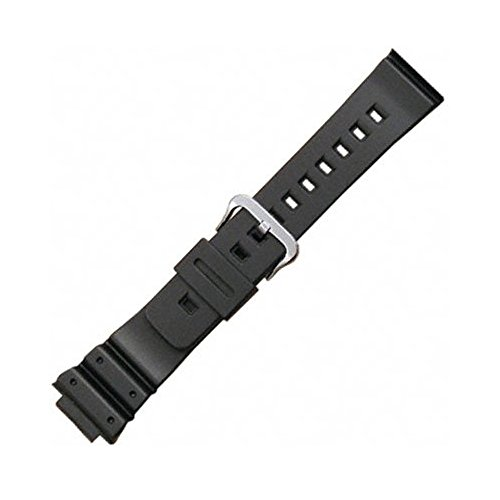 Casio 71604349 Genuine Factory Replacement Resin Band fits DW-5300 DW-6000 DW-6200 DW-6600 DW-6695 DW-6900 DW-8700 G-6900 GW-6900 Casio Watch Parts