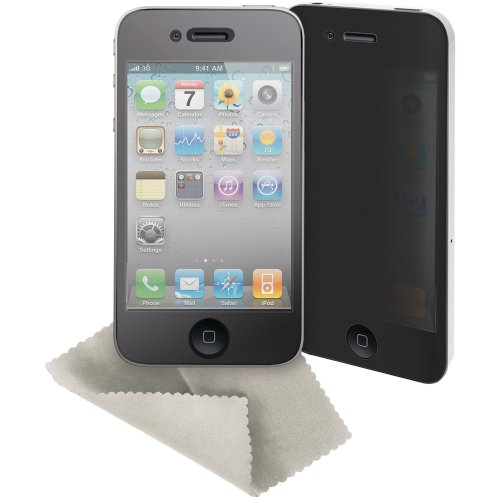 Griffin Technology Screen Care Kit iPhone 4 with 2-Way Privacy Film (Kit Screen Griffin Care)