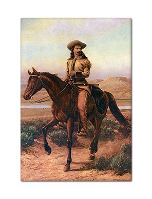 Buffalo Bill Cody Portrait Fridge Magnet (Fridge Magnet Bill)