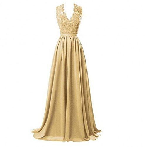Kleid Mädchen Gold KA KA Gold Beauty Beauty KA Kleid Mädchen q6ZHBWfp