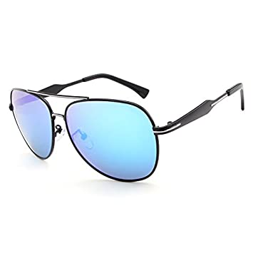Easy Go Shopping Los Mejores vidrios de Sol polarizados de los Hombres Gafas de Sol de