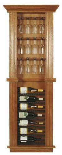 Large Wine Rack with Wine Glass Holder Cabinet  sc 1 st  Amazon.com & Amazon.com: Large Wine Rack with Wine Glass Holder Cabinet: Kitchen ...