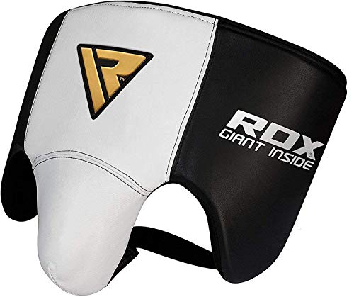 RDX Groin Protector for Boxing, Muay Thai, MMA Fighting and Kickboxing, Cowhide Leather Abdo Gear for Martial Arts…