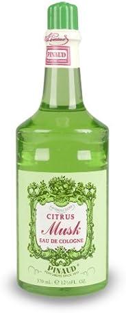 Clubman Pinaud Citrus Musk Eau de Cologne Classic Fragrance, 12.5 fl oz/370 mL
