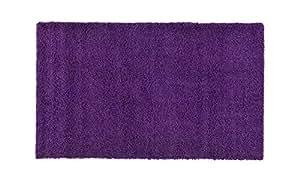 Bolo rug Carpet Plain Purple 150x230cm