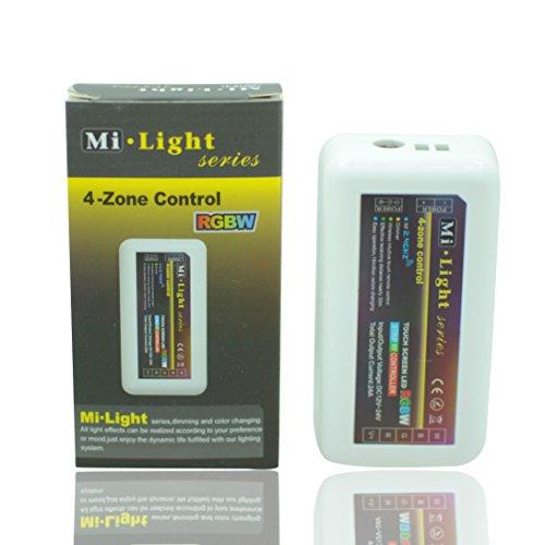 Bsod DC12-24V 4-zone Mi Light 2.4G Wireless Wifi LED Remote Controller for Led Flexible Strip (4-zone 2.4G RGBW comtroller) -  BOSONDA