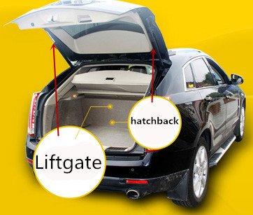 WBOY Qty 2pcs 6109 Rear Door Liftgate Hatch Tailgate Lift Supports Springs Struts Shocks Arms For 2001-2006 Hyundai Santa Fe