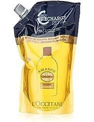 L'Occitane Cleansing & Nourishing Almond Shower Oil - Refill Pack, 16.9 fl. oz.