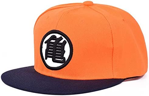 Classic Hot Recommended Animedragonball Word For 悟 Baseball Cap Dragon Ball 桔色龟