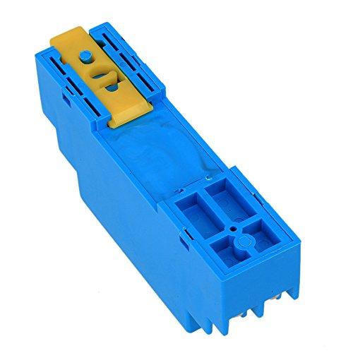 0-5V 24V DC RTD PT100 Temperature Sensors Transmitter Blue - 4