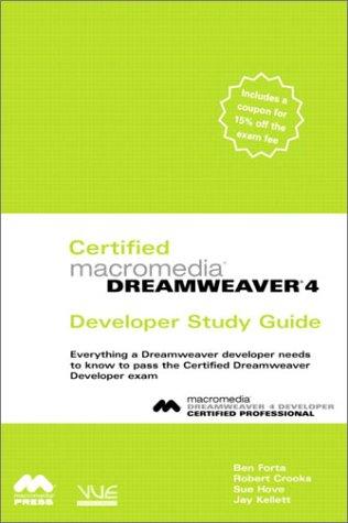 Certified Macromedia Dreamweaver 4 Developer Study