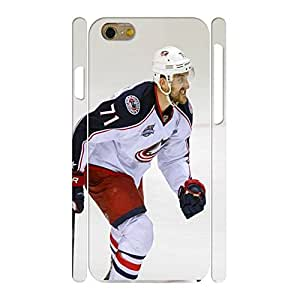 Customized Personalized Phone Accessories Print Hockey Player Pattern Skin for Iphone 6 Case - 4.7 Inch