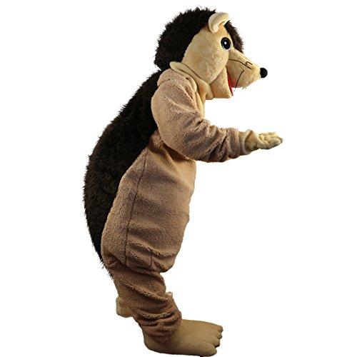 Hedgehog Porcupine Mascot Costume Cartoon Character Adult Sz Real -